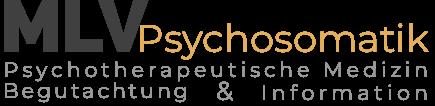 MLV-Psychosomatische Medizin|Psychotherapie|Begutachtung